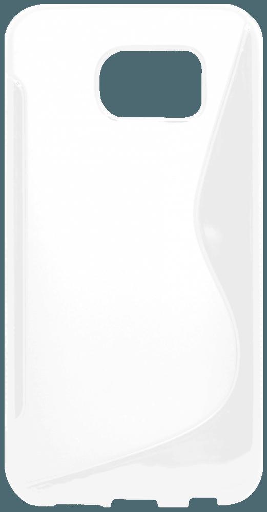 Samsung Galaxy S6 (G920) szilikon tok s-line fehér