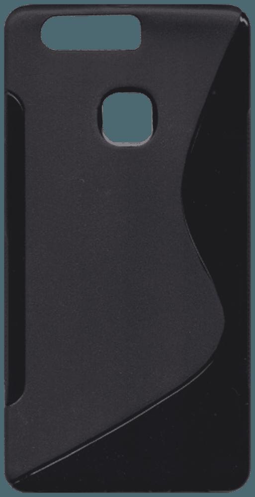 Huawei P9 Plus (VIE-L09) szilikon tok s-line fekete