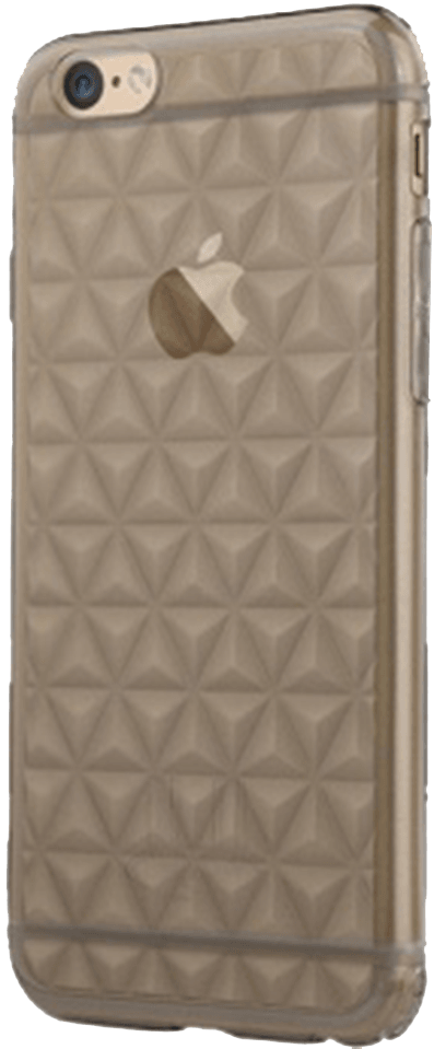 Apple iPhone 6S szilikon tok gyári USAMS gyémánt mintás füstszínű
