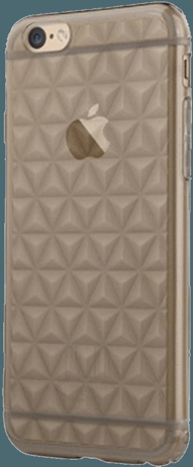 Apple iPhone 6 szilikon tok gyári USAMS gyémánt mintás füstszínű
