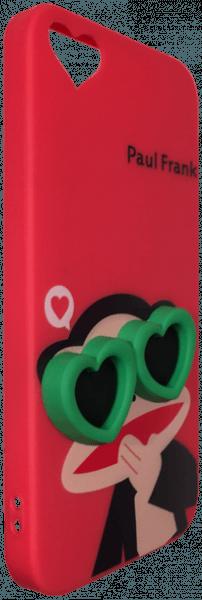 Apple iPhone SE szilikon tok majom mintás piros