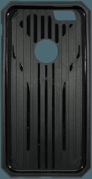 Apple iPhone 6 ütésálló tok ütésálló, asztali kitámasztós fekete