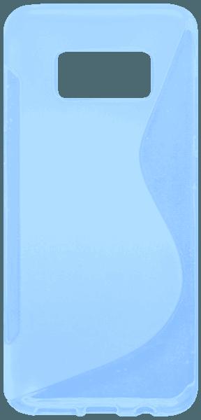 Samsung Galaxy S8 (G950) szilikon tok s-line kék