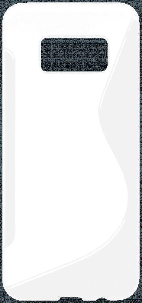 Samsung Galaxy S8 (G950) szilikon tok s-line fehér