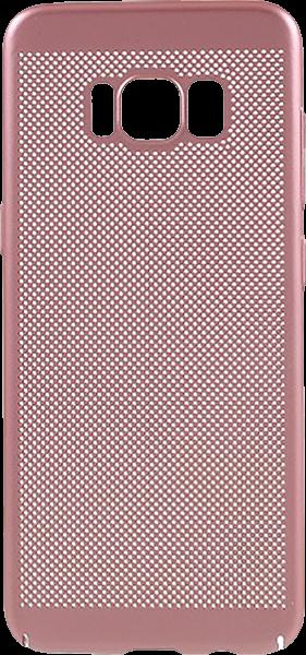 Samsung Galaxy S8 (G950) kemény hátlap gumírozott rozéarany