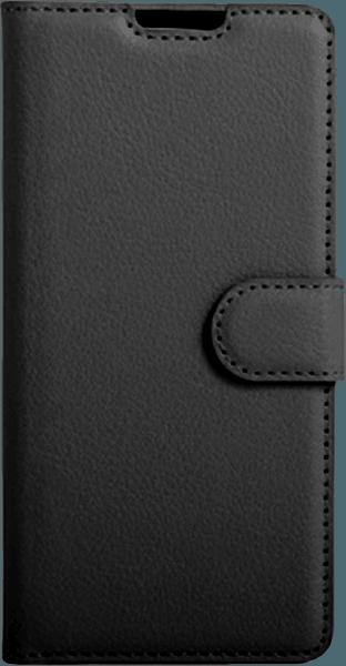 Sony Xperia XA oldalra nyíló flipes bőrtok asztali tartó funkciós fekete