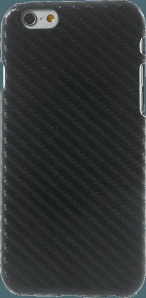 Apple iPhone 6S kemény hátlap karbon mintás fekete