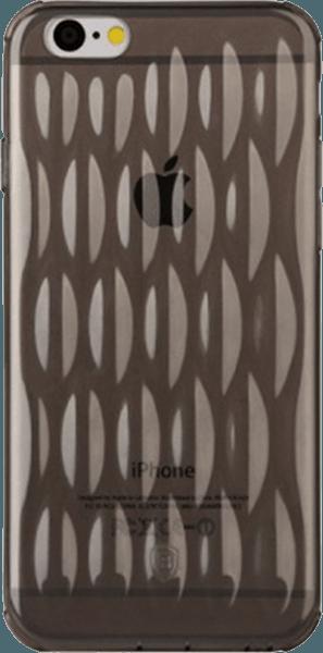 Apple iPhone 6S szilikon tok gyári BASEUS ultravékony átlátszó fekete
