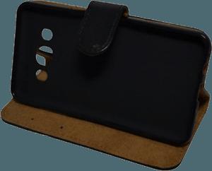 Samsung Galaxy J5 2016 (J510) oldalra nyíló flipes bőrtok asztali tartó funkciós fekete