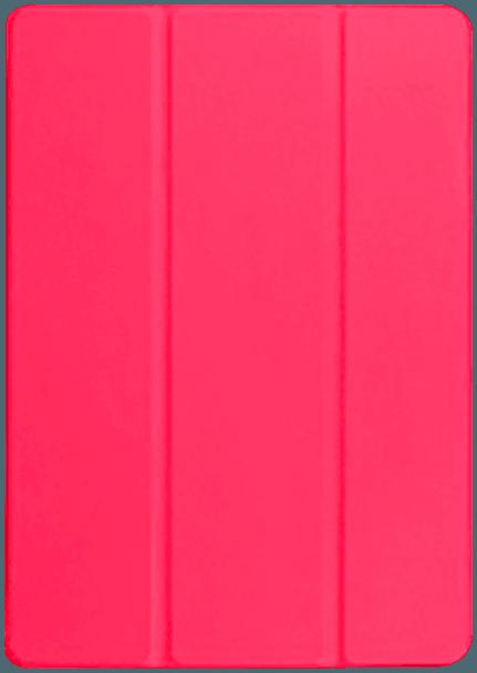 Huawei MediaPad T3 10 Wifi oldalra nyíló flipes bőrtok asztali tartó funkciós rózsaszín
