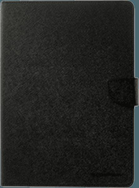 Apple iPad Pro 2017 10.5 oldalra nyíló flipes bőrtok gyári MERCURYCASE bankkártya tartó fekete