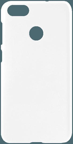 Huawei P9 Lite Mini kemény hátlap gumírozott fehér