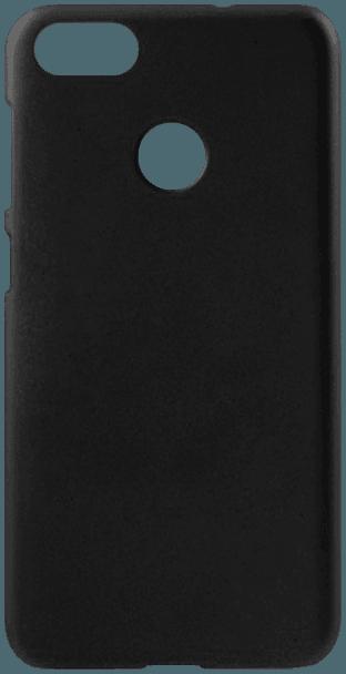 Huawei P9 Lite Mini kemény hátlap gumírozott fekete