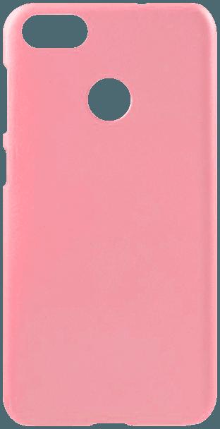 Huawei P9 Lite Mini kemény hátlap gumírozott rózsaszín