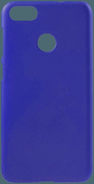 Huawei P9 Lite Mini kemény hátlap gumírozott sötétkék