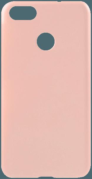 Huawei P9 Lite Mini szilikon tok matt rózsaszín