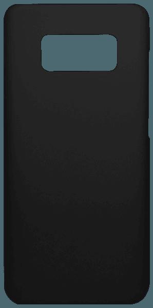 Samsung Galaxy S8 (G950) kemény hátlap gumírozott fekete