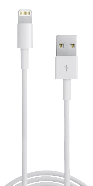 Apple iPhone X Prémium Lightning USB adatkábel fehér