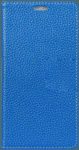 Samsung Galaxy S9 (G960) oldalra nyíló flipes bőrtok valódi bőr kék