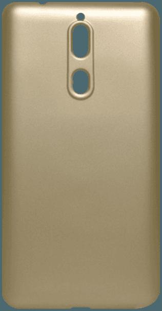 Nokia 8 Dual szilikon tok matt arany