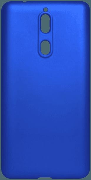Nokia 8 Dual szilikon tok matt kék