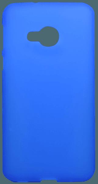 HTC U Play szilikon tok matt-fényes keret kék
