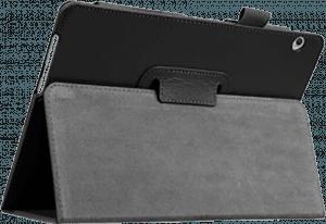 Huawei MediaPad T3 10 LTE oldalra nyíló flipes bőrtok asztali tartó funkciós fekete