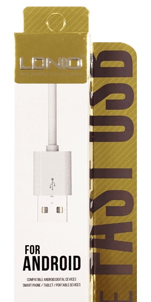 Lenovo Tab 4 8 Prémium micro USB gyorstöltő adatkábel fehér