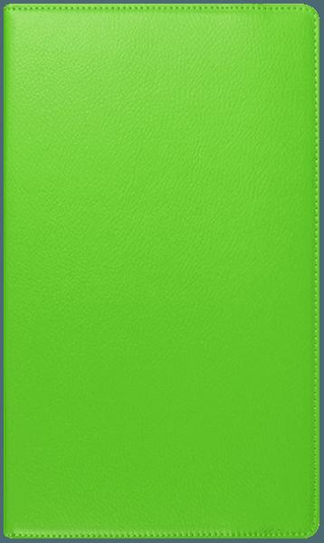 Huawei MediaPad T3 8 LTE oldalra nyíló flipes bőrtok 360° ban forgatható világoszöld