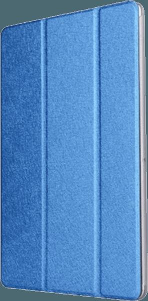 Huawei MediaPad T3 10 LTE oldalra nyíló flipes műanyag tok bőr flip sötétkék