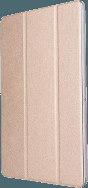 Huawei MediaPad T3 10 Wifi oldalra nyíló flipes műanyag tok asztali tartó funkciós arany