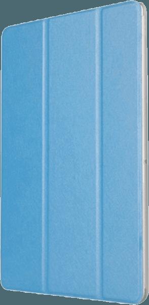 Huawei MediaPad T3 10 LTE oldalra nyíló flipes műanyag tok asztali tartó funkciós világoskék