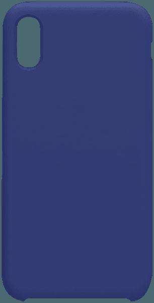 Apple iPhone X szilikon tok gyári NILLKIN gumírozott kék