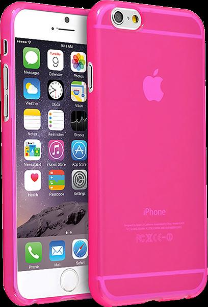 Apple iPhone 6S szilikon tok rózsaszín