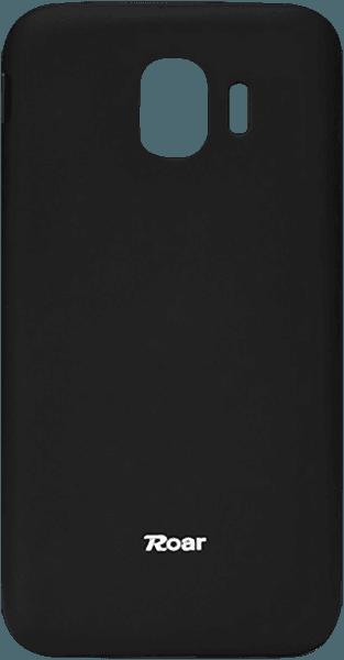 Samsung Galaxy J4 2018 (J400) szilikon tok gyári ROAR matt fekete