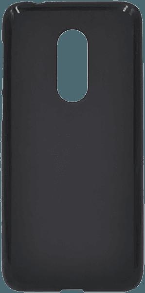Alcatel 3 (OT-5052) szilikon tok matt-fényes keret fekete