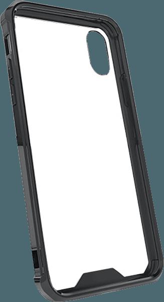 Apple iPhone XS bumper szilikon keret fekete