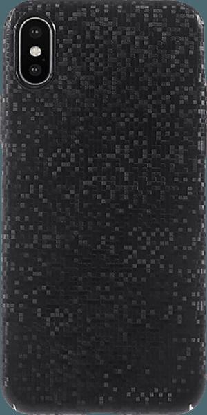 Apple iPhone XS kemény hátlap csillogó fekete