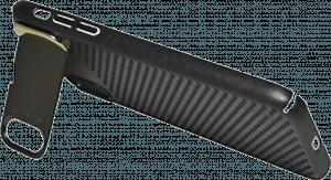 Apple iPhone X kemény hátlap lyukacsos minta fekete