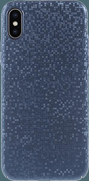 Apple iPhone XS kemény hátlap csillogó kék
