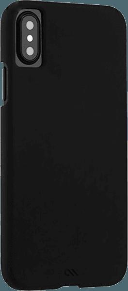 Apple iPhone X kemény hátlap gyári CASE-MATE ultrakönnyű fekete