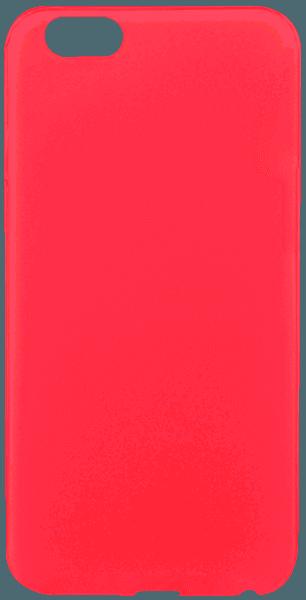 Apple iPhone 6S szilikon tok piros