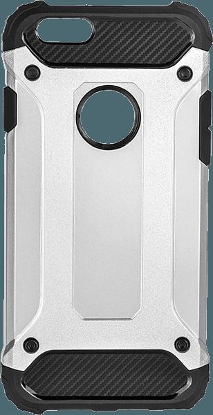Apple iPhone 6 Plus ütésálló tok légpárnás sarok logó kihagyós ezüst