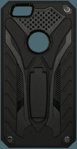 Apple iPhone 6 Plus ütésálló tok logó kihagyós fekete