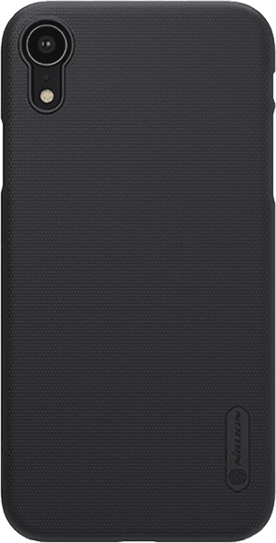 Apple iPhone XR kemény hátlap gyári NILLKIN gumírozott-érdes felületű fekete