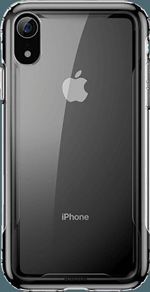 Apple iPhone XR bumper gyári BASEUS légpárnás sarok fekete