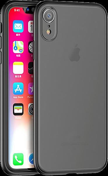 Apple iPhone XR bumper gyári IPAKY szilikon keret fekete