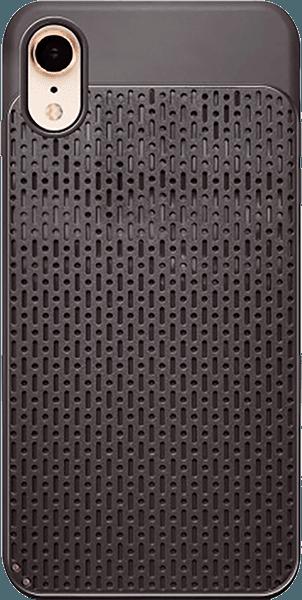 Apple iPhone XR szilikon tok műanyag hátlap barna