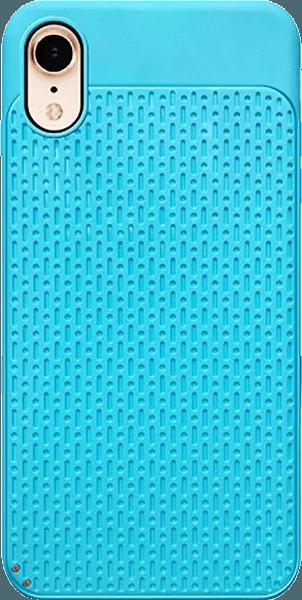 Apple iPhone XR szilikon tok műanyag hátlap világoskék