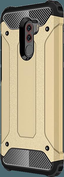 Xiaomi Pocophone F1 ütésálló tok légpárnás sarok arany